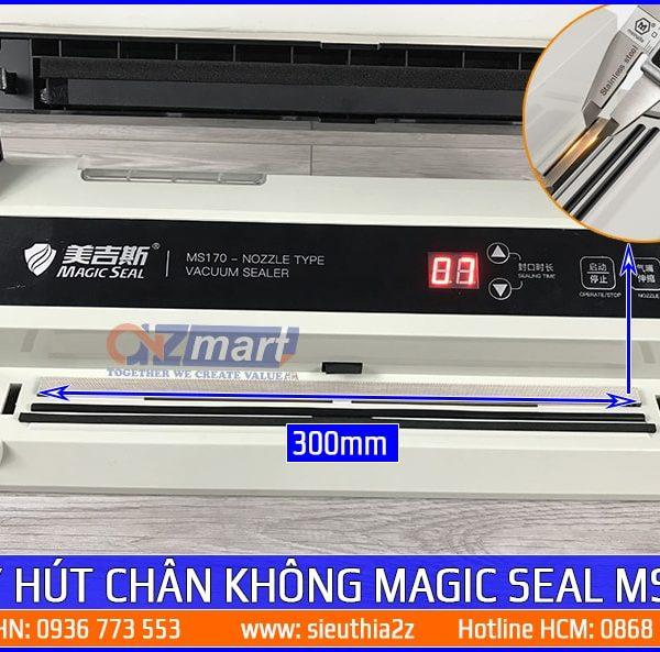 Máy hút chân không mini không kén túi Magic Seal MS170